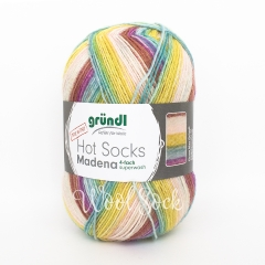 Gruendl Hot Socks Madena (01) Caribean-summer