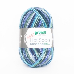 Gruendl Hot Socks Madena (08) Baltic-sea-mix